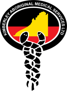 Kimberley Aboriginal Medical Services (KAMS)logo