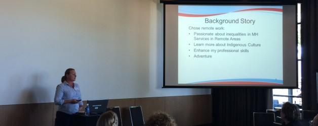 Boab presents at the WA Mental Health Conference 2016