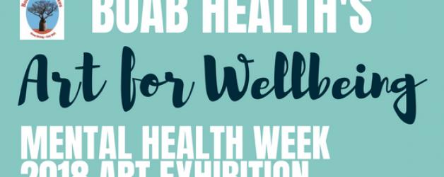 Mental Health Week Art Exhibition